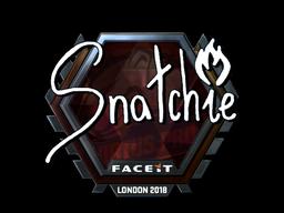 Наклейка | snatchie (металлическая) | Лондон 2018