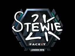 Sticker   Stewie2K (Foil)   London 2018