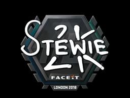 Sticker   Stewie2K   London 2018