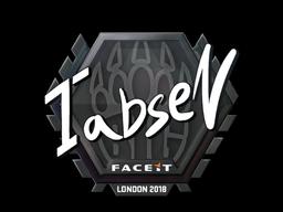 Наклейка | tabseN | Лондон 2018