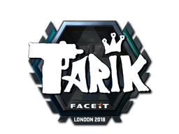 Sticker   tarik (Foil)   London 2018