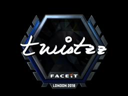 Наклейка | Twistzz (металлическая) | Лондон 2018