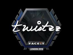 Наклейка | Twistzz | Лондон 2018