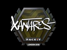 Наклейка | XANTARES | Лондон 2018