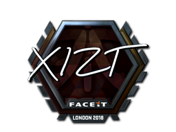 Sticker   Xizt (Foil)   London 2018