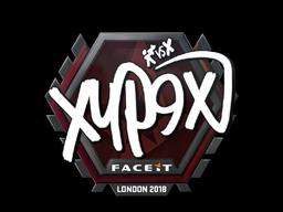 Наклейка | Xyp9x | Лондон 2018
