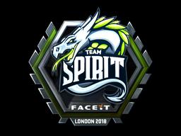 Sticker   Team Spirit (Foil)   London 2018