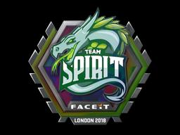 Sticker   Team Spirit (Holo)   London 2018