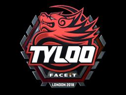 Sticker   Tyloo (Foil)   London 2018