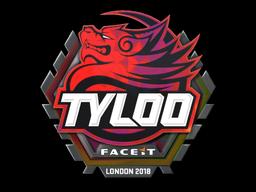 Sticker   Tyloo (Holo)   London 2018