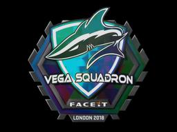 Наклейка | Vega Squadron (голографическая) | Лондон 2018