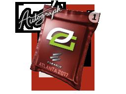 Капсула с автографом | OpTic Gaming | Атланта 2017