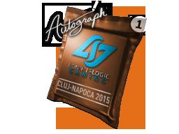 Капсула с автографом | Counter Logic Gaming | Клуж-Напока 2015