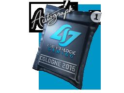 Капсула с автографом | Counter Logic Gaming | Кёльн 2015