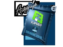 Капсула с автографом | Flipsid3 Tactics | Кёльн 2016