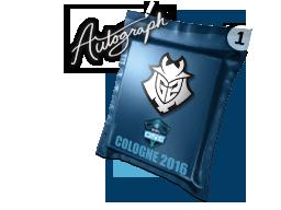 Капсула с автографом | G2 Esports | Кёльн 2016
