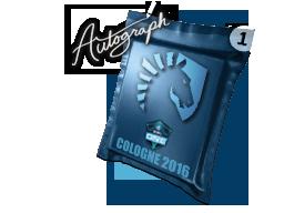 Autograph Capsule   Team Liquid   Cologne 2016
