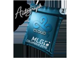 Капсула с автографом | Cloud9 | MLG Columbus 2016
