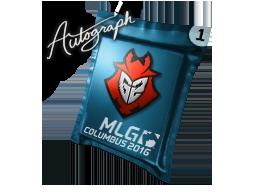 Autograph Capsule   G2 Esports   MLG Columbus 2016