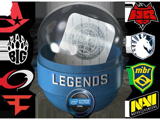 Katowice 2019 Legends (Holo/Foil)