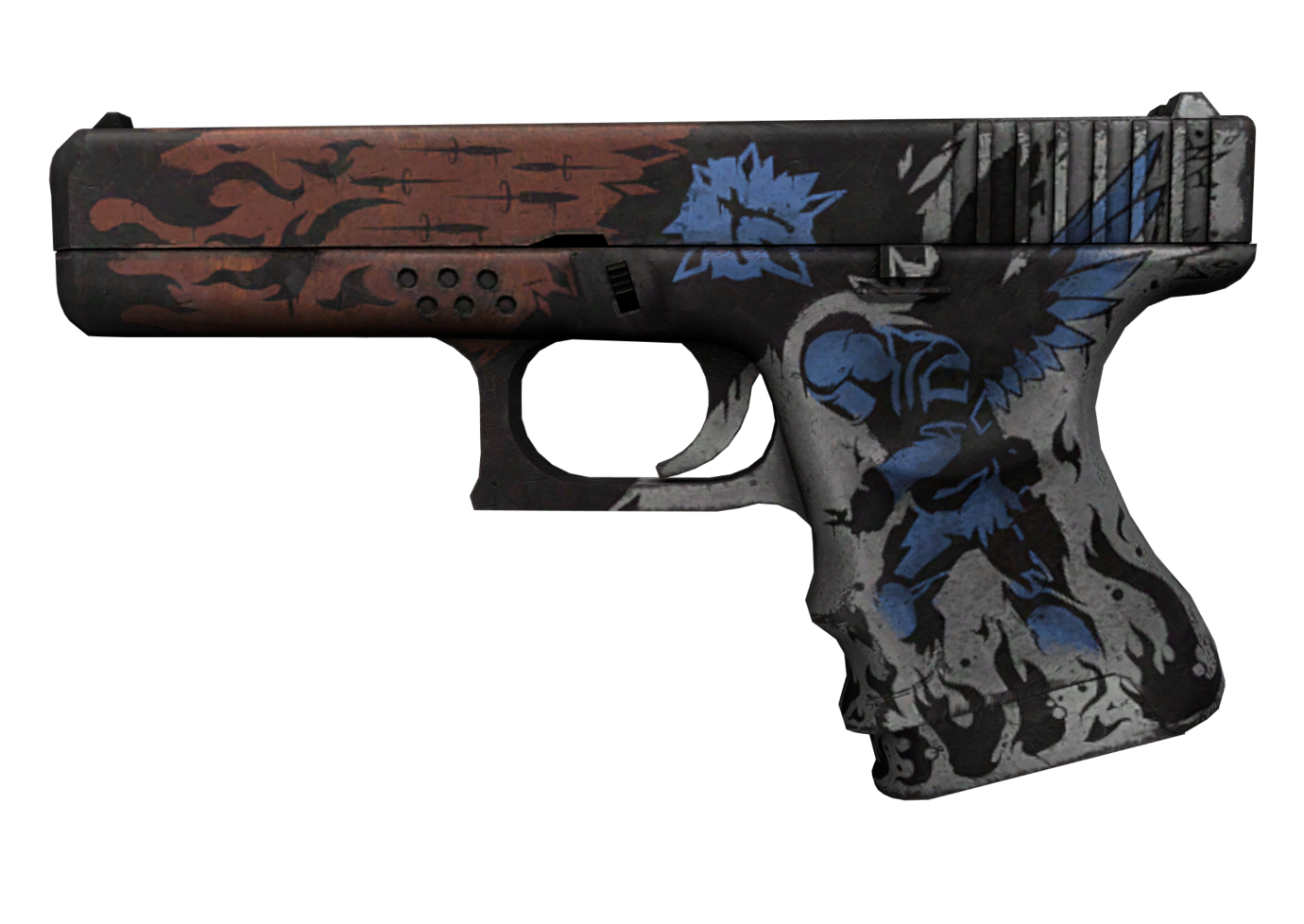 Glock-18 | Жертвенность — цены, описание скина и паттернов в CS:GO на  CS.MONEY Wiki