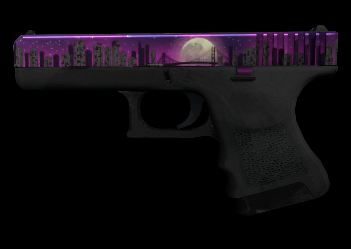 Glock-18 | Лунная ночь — цены, описание скина и паттернов в CS:GO на  CS.MONEY Wiki