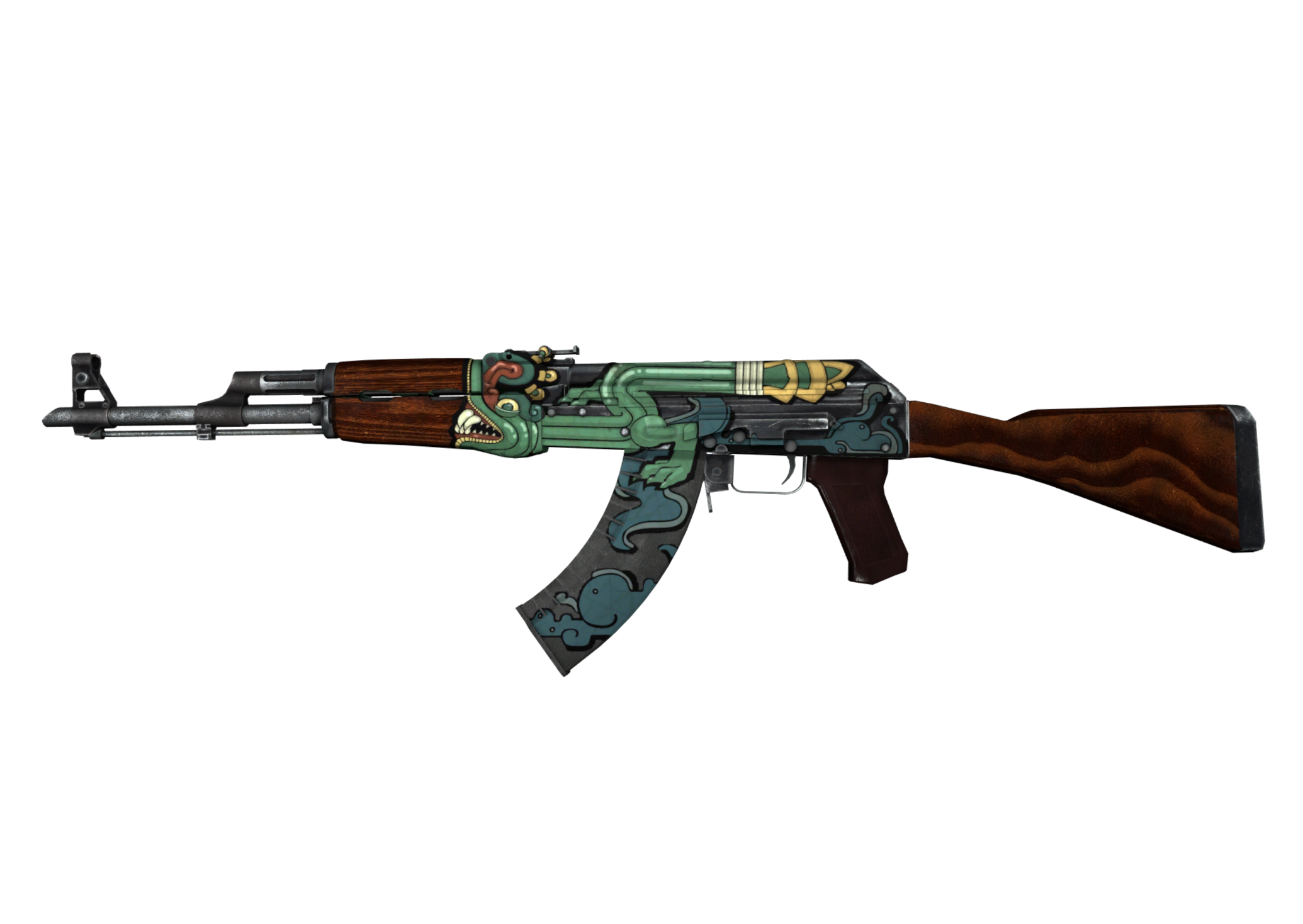 Ak 47 Fire Serpent Skin On Cs Go Wiki By Cs Money