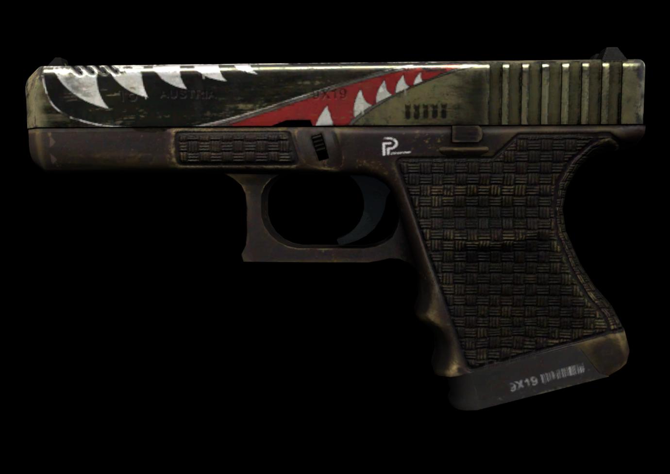 Glock-18 | Ястреб — цены, описание скина и паттернов в CS:GO на CS.MONEY  Wiki
