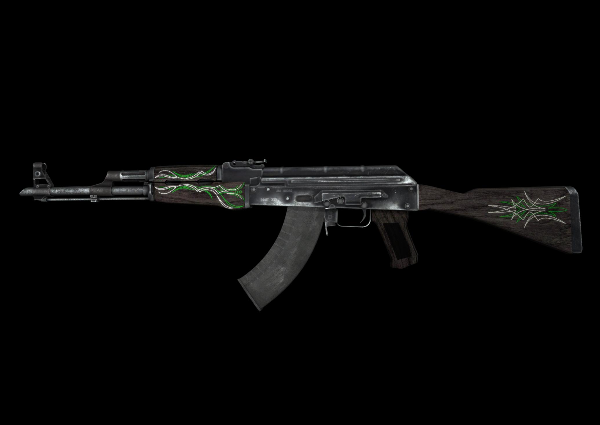 AK-47 | Изумрудные завитки — цены, описание скина и паттернов в CS:GO на  CS.MONEY Wiki